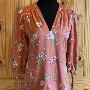 NEW with Tags Rebecca Taylor Lita Floral Blouse 00